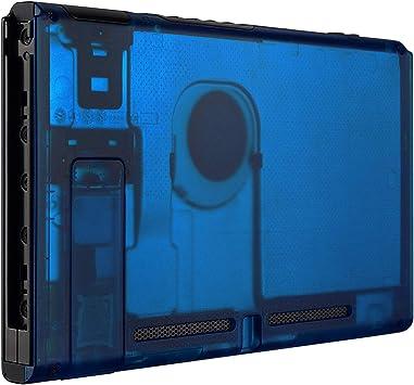 eXtremeRate Carcasa Transparente Azul para Nintendo Switch Funda ...