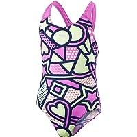 Speedo Bañador para niñas Solar Tribe, diseño Completo
