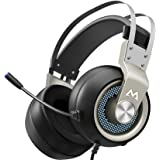 Mpow EG3 Pro - Over Ear Gaming Headset with 7.1 Surround Sound, Compatible with PC,PS4,Xbox One,Nintendo Switch, LED…