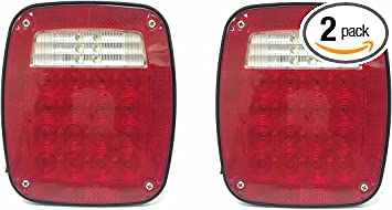 Socket For Universal Use For Tailor Pick Up Truck Car Tail Lamp Double Dot 2 PCS