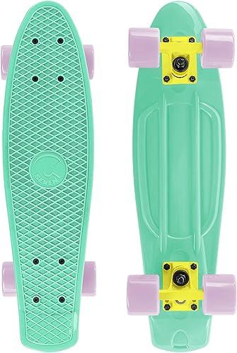 Cal 7 Complete Mini Cruiser Plastic Skateboard