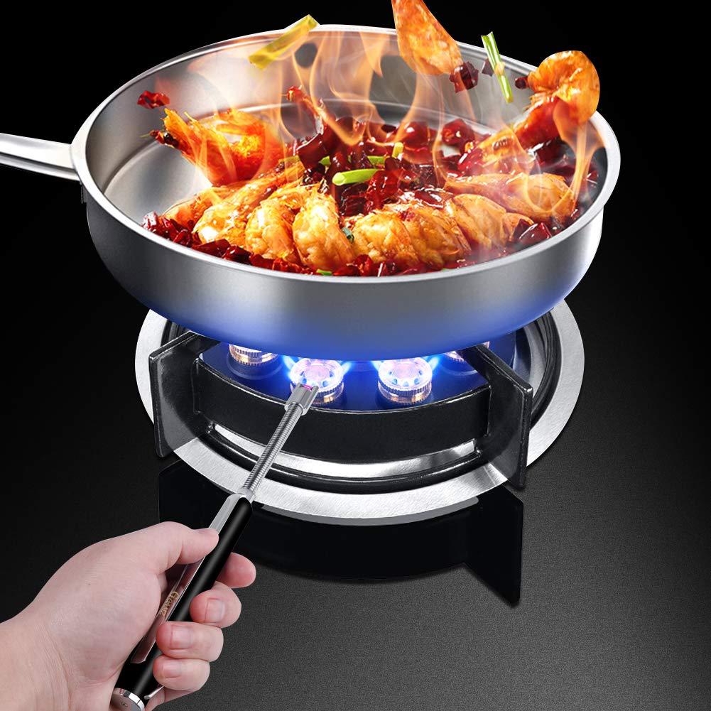 ... Encendedor electrónico, Recargable por USB, Encendedor sin Llama, Resistente al Viento, para Cocina, Barbacoa, Estufa, Velas y Camping: Amazon.es: Hogar