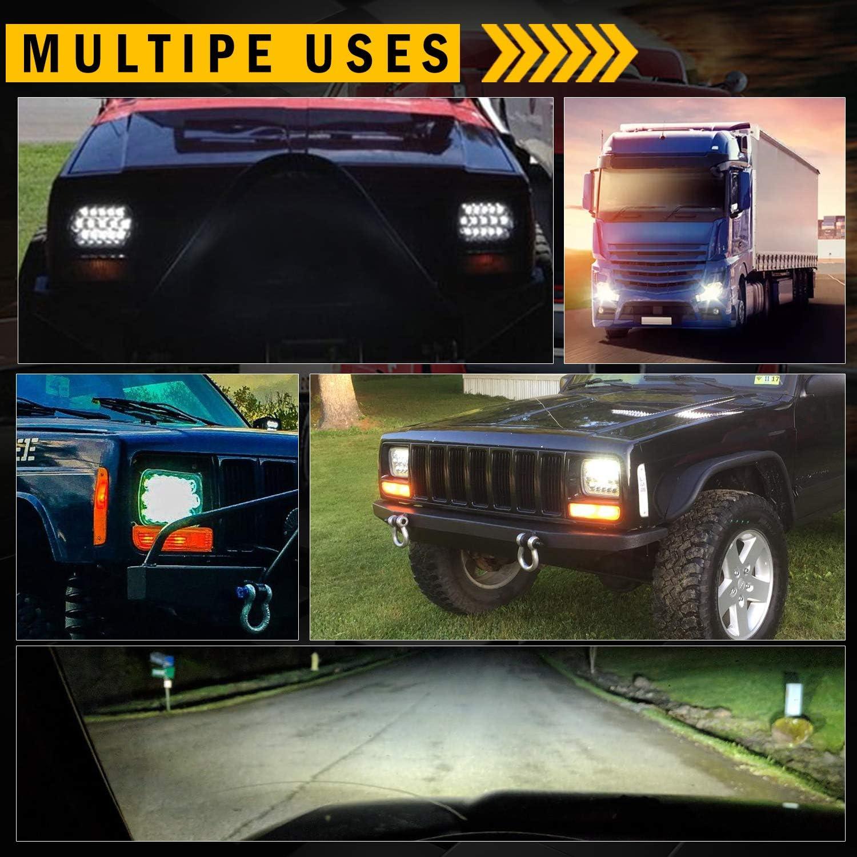 Driver side WITH install kit 100W Halogen 6 inch 2011 Kenworth T700-LH POST mount spotlight Larson Electronics 0321OXAKVTG -Black