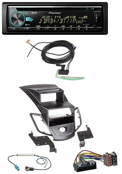 Pioneer X780 0dab MP3 AUX CD USB DAB Radio de coche para Ford Fiesta (10