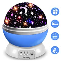 Deals on Moredig Night 360 Degree Rotation Kids Projector