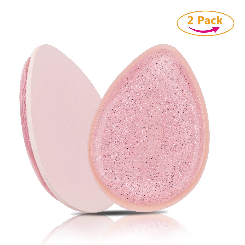 100 PCS Dual Sided Soft Eye shadow Brush Sponge +100 PCS Eyelash Mascara Applicator Combo, Disposable Make up tool kits XREXS