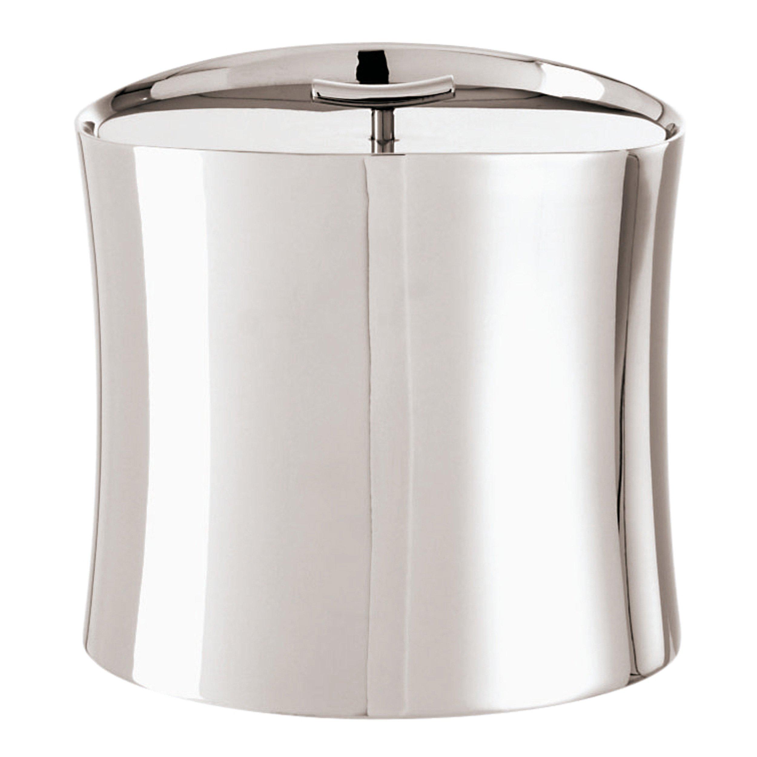 Sambonet Bamboo Insulated Ice Bucket Holloware Stainless Steel - 5.6''H