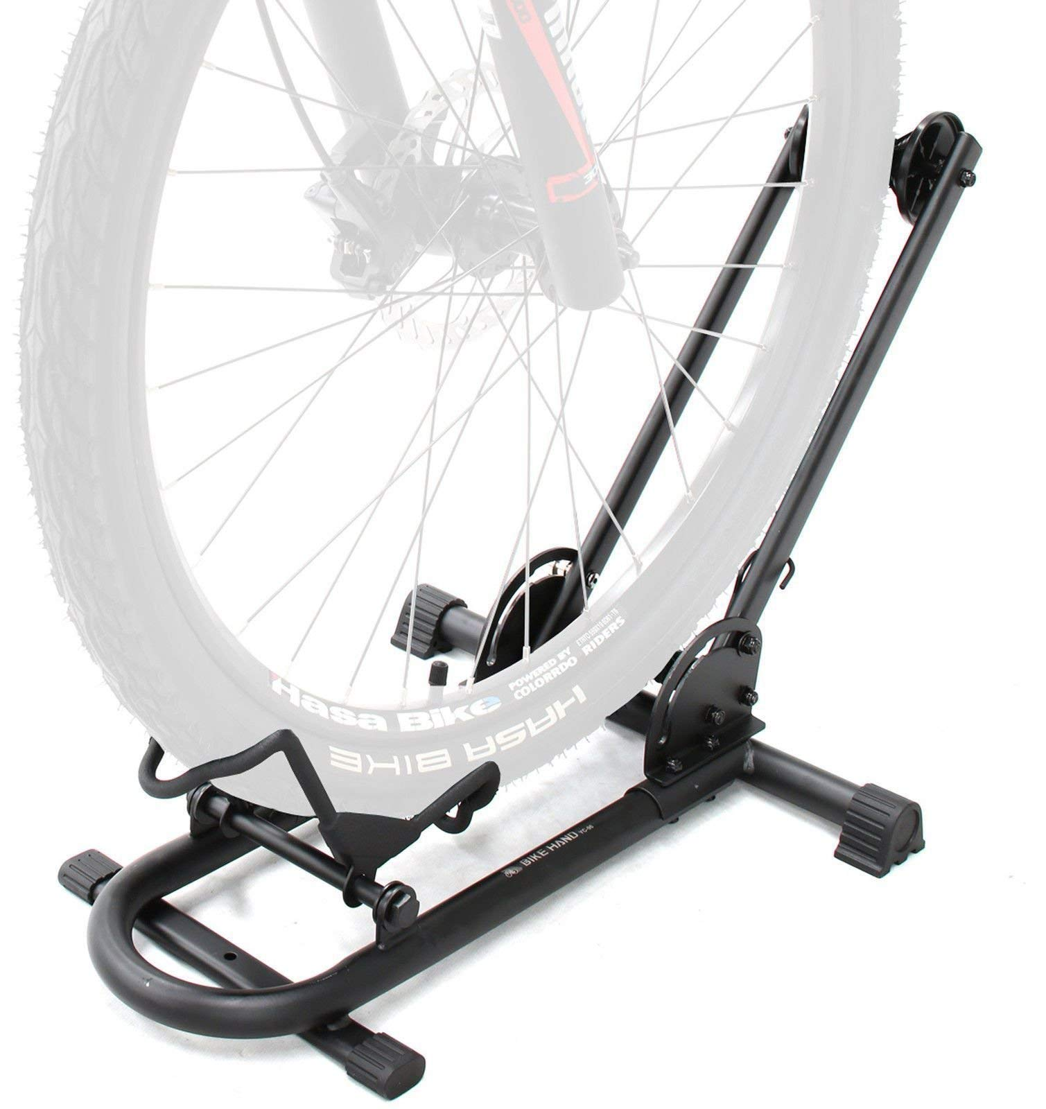 Bikehand Bike Floor Parking Rack Storage Stand Bicycle (Renewed)