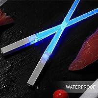 OUNONA Palitos chinos de sable de luz LED
