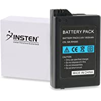 Insten Replacement Battery Pack for SONY PSP 1000 1001 High capacity 1800mAh 3.6V