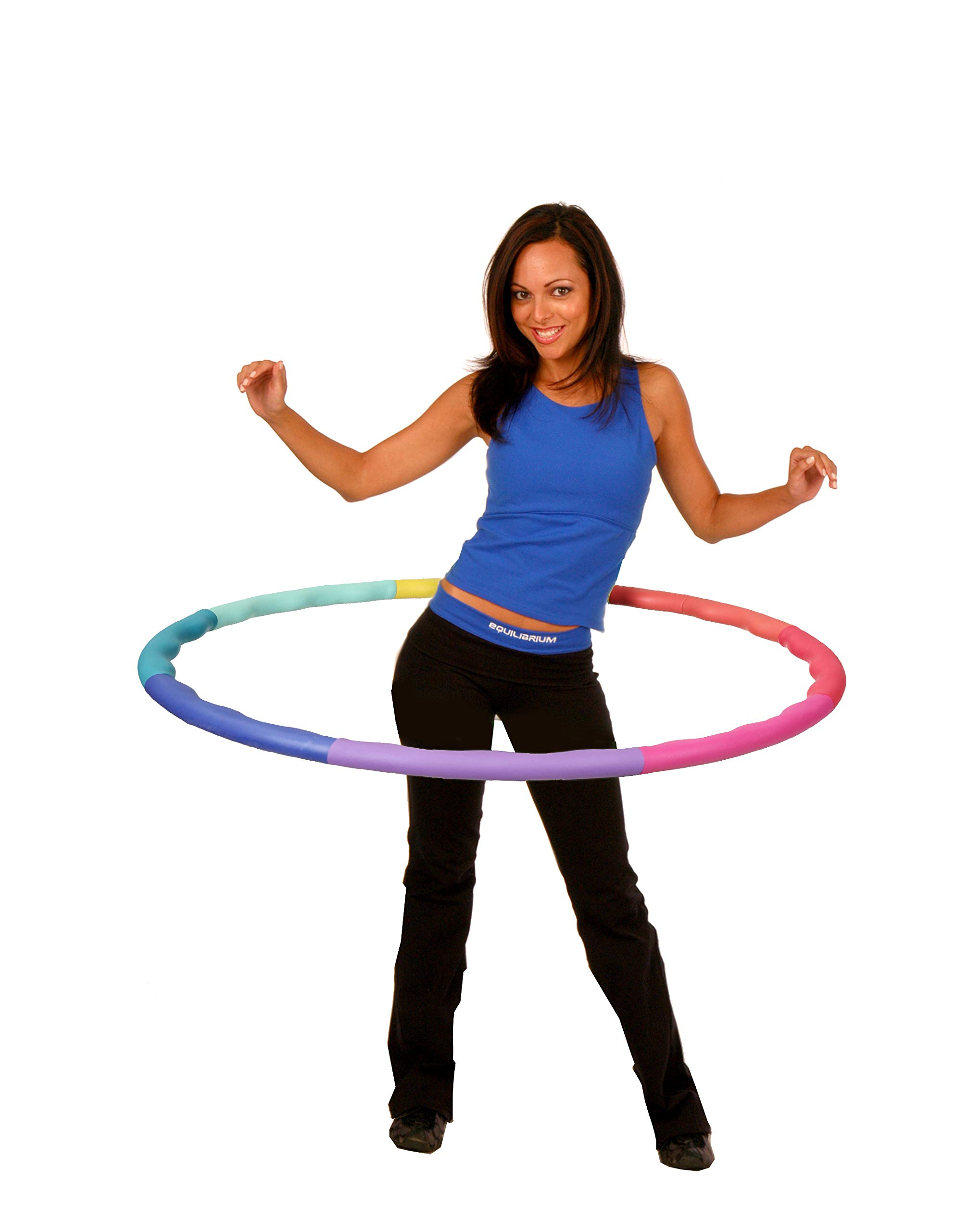 Sports Hoop Weighted Hoop, Weight Loss ACU Hoop 2S - 1.5lb (35.5 inches Wide) Small, Weighted Fitness Exercise Hula Hoop