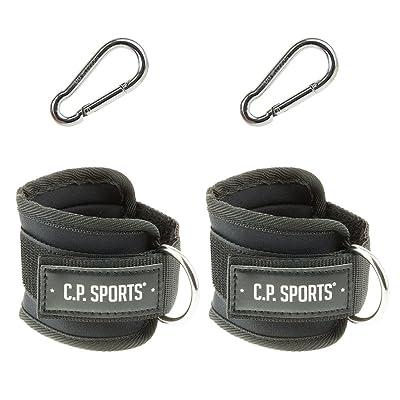 C.P. Sports main et pied noir, dragonne, One Size