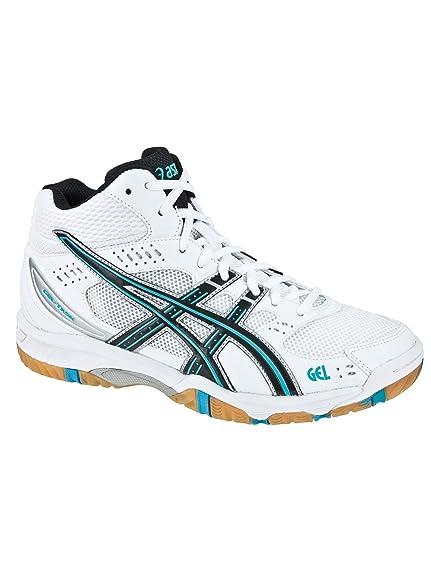 e3ee6ca3e247 Asics Gel-Task MT Indoor Court Shoes White   Ice B  Amazon.co.uk ...