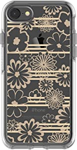 OtterBox Symmetry Series Case for iPhone 8 & iPhone 7 (NOT Plus) - Bulk Packaging - Drive Me Daisy Clear