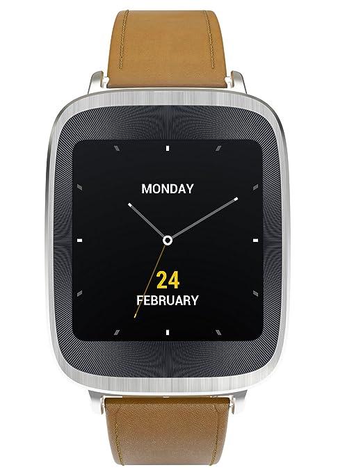 "Asus WI500Q 1.63"" AMOLED Plata reloj inteligente - Relojes inteligentes (4,14 cm"