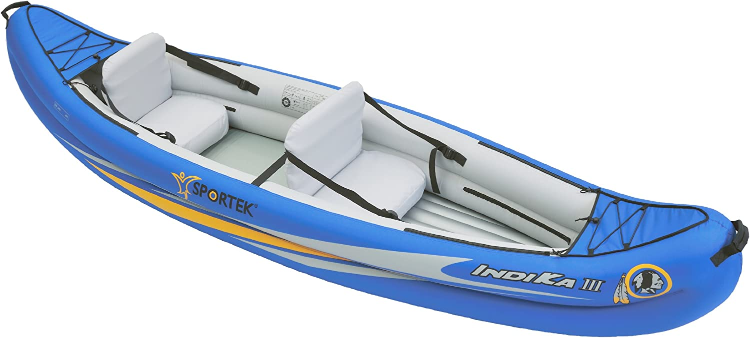Sportek Indika Iii Blue Unisex Inflatable Canoe Blue Amazon Co Uk Sports Outdoors This was a spur of the moment adventure my wife and i had. amazon co uk