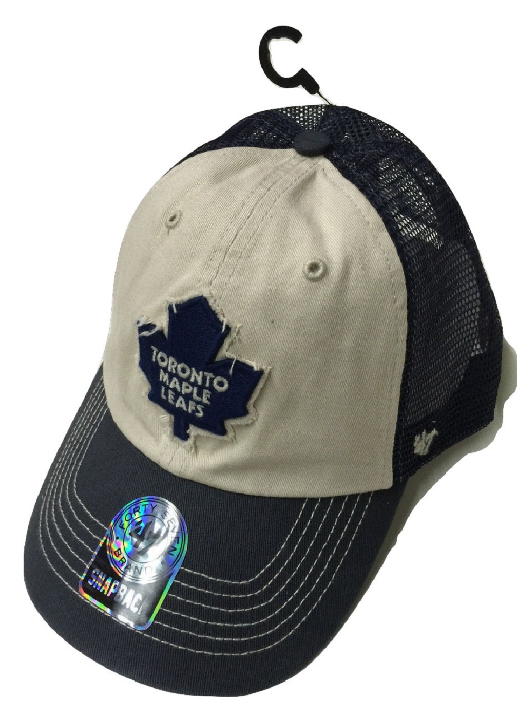 '47 Brand Toronto Maple Leafs Clean Up Navy/Cream Hat Osfa '47 Brand