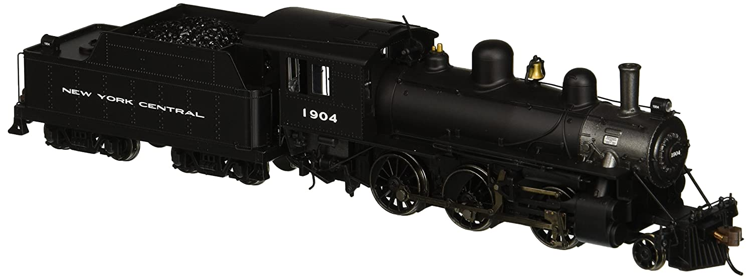 Bachmann Industries Alco 2-6-0 DCC Sound Value Equipped HO Scale #1904 New York Central Locomotive 51808