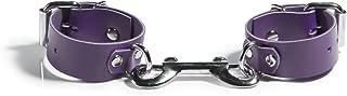 product image for Liberator Rani Leather Wrist Cuffs Handmade Playful Bondage Restraints, Purple, 0.6 Pound