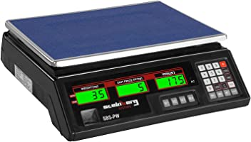 30 kg // 2 g, Black, LED Steinberg Systems SBS-PW-302B Price Scale