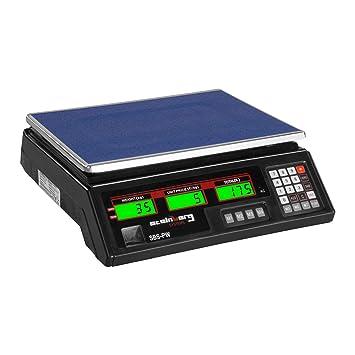 Steinberg Systems Balanza De Control Bascula Digital SBS-PW-352B (35 kg / 2 g, Pantalla LCD, Batería integrada 40 h) Negra: Amazon.es: Hogar