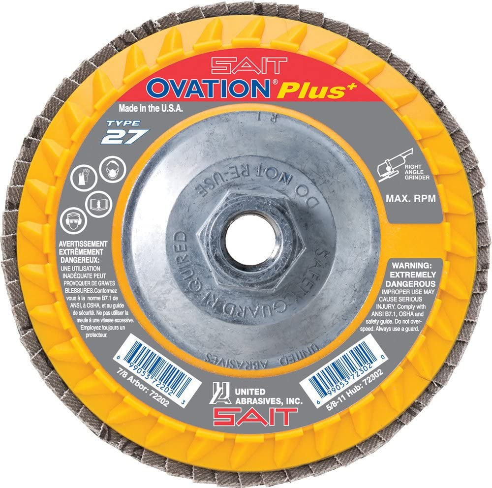 532 3 in x 1//4 in x 1//4 in Standard Abrasives S//C Unitized Wheel 853235 10//Case 1 Case