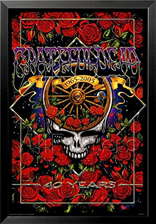 """Grateful Dead poster wall decoration photo print 24x24/"""" inches"""