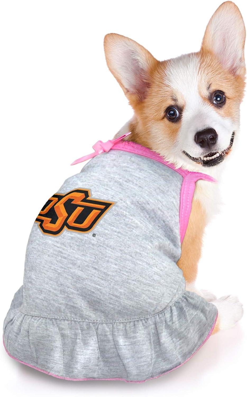 Littlearth NCAA Oklahoma State Cowboys Pet Dress Medium