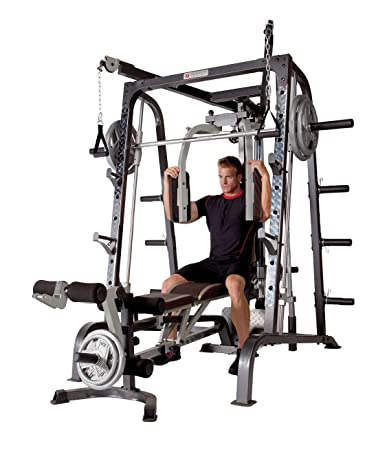 815ad71ca3f This home gym set offers a complete workout system to target every muscle  in your body for a complete workout. Sealed linear bearings provide smooth  ...
