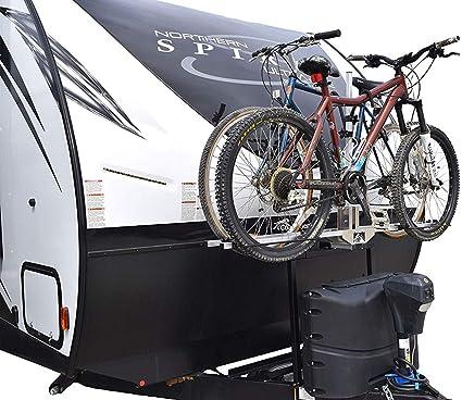 futura gp rv bike rack front bike rv trailer rack ultra lite aluminum bike rack bike hitch mount rack 2 inch reicever