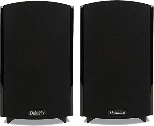 Definitive Technology ProMonitor 800 Bookshelf Speaker Pair Black