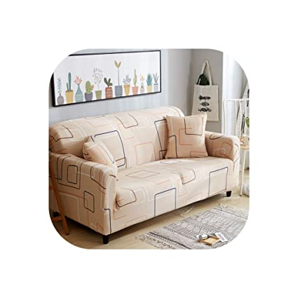 Amazon.com: Spandex Sofa Cover Tight All-Inclusive Sectional ...