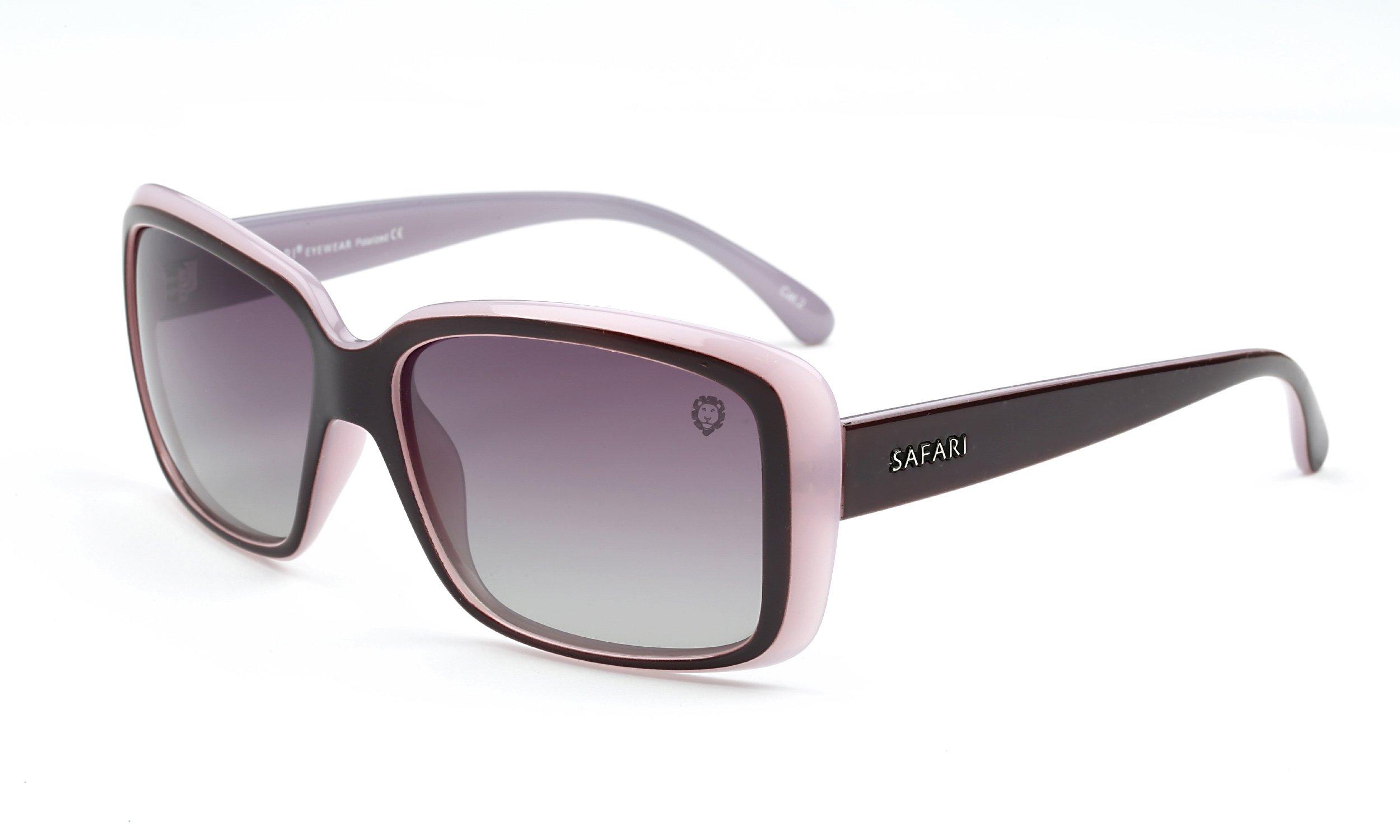 Polarized Sunglasses Aviator for Women by SAFARI Eyewear - LP10305PP