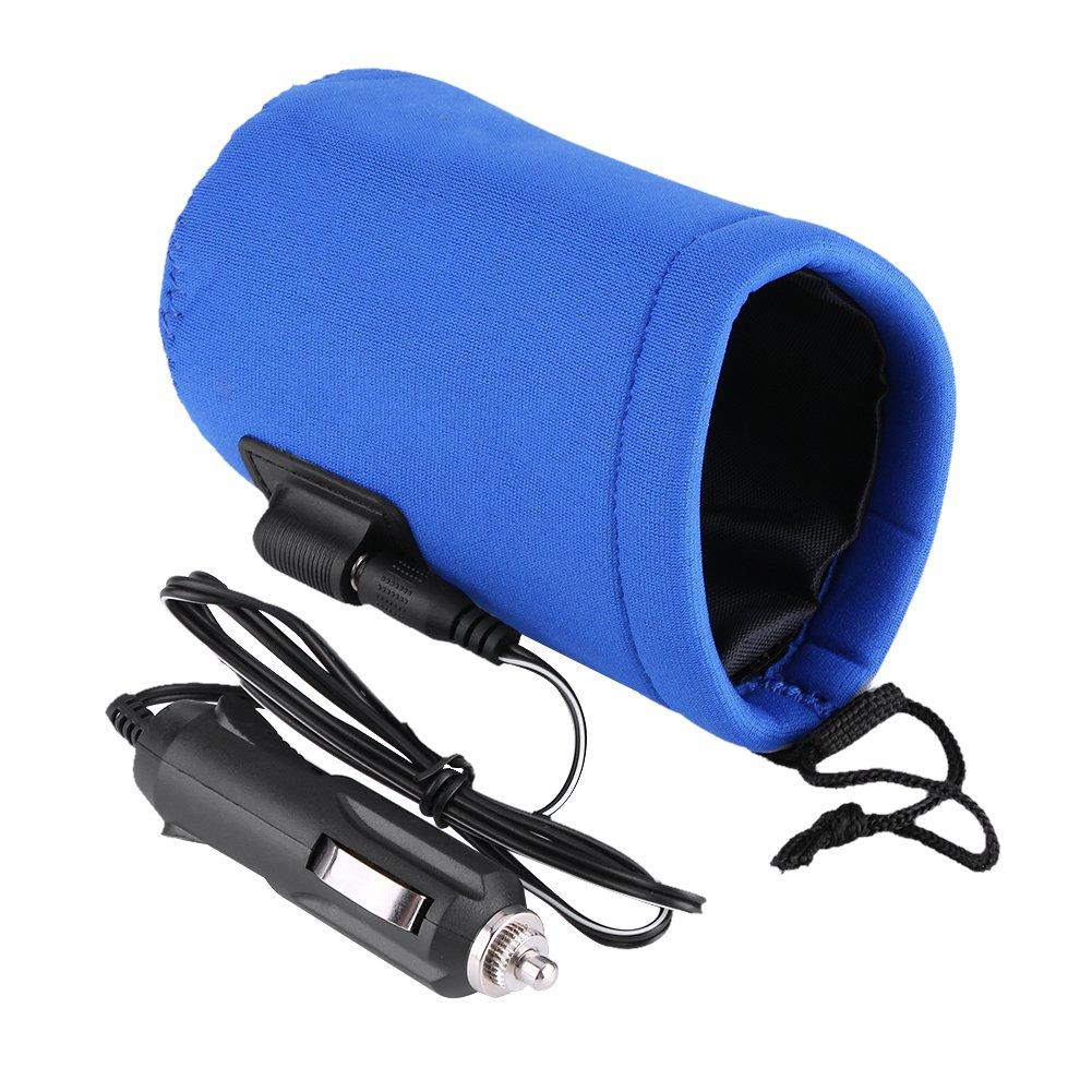 Baby Bottle Warmer, Keenso Car Bottle Heater Pouch DC 12V Portable Travel Milk Water Bottle Cup Warmer