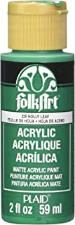 product image for FolkArt Acrylic Paint in Assorted Colors (2 oz), 228, Holly Leaf