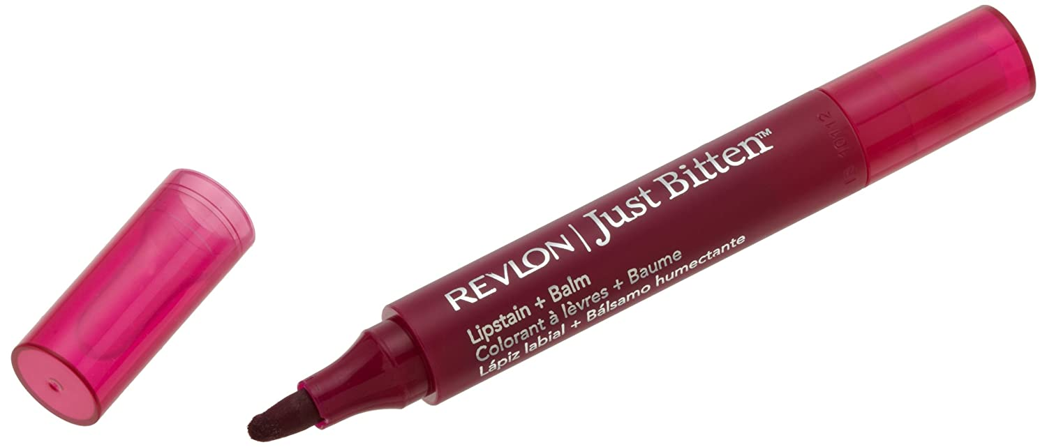 Revlon Just Bitten Lipstain and Balm, Gothic, 0.09 Ounces 6707-45