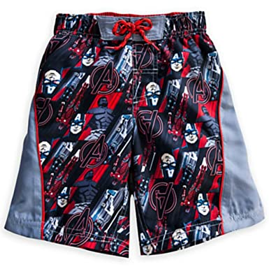 221e819be2 Amazon.com: Marvel The Avengers Swim Trunks for Boys: Clothing