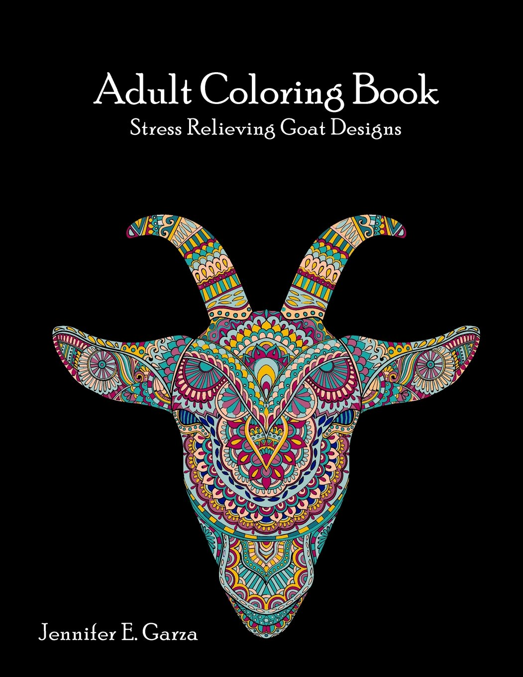 Download Goats Adult Coloring Book: Stress Relieving Goat Designs ePub fb2 book