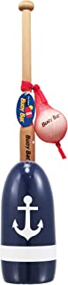 product image for Maine Lobster Buoy Bat & Ball Set - Navy White Anchor
