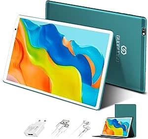 Tablet 10 Pulgadas 4GB de RAM 64GB/128GB de ROM Android 10.0 Certificado por Google GMS Tablet PC Barats y Buenas Batería 8000mAh Quad Core 4G Dual ...