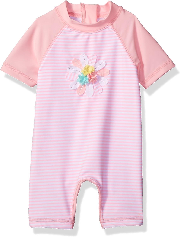 3D Multi Pink Little Me Baby Girls Swimsuit 6-9M