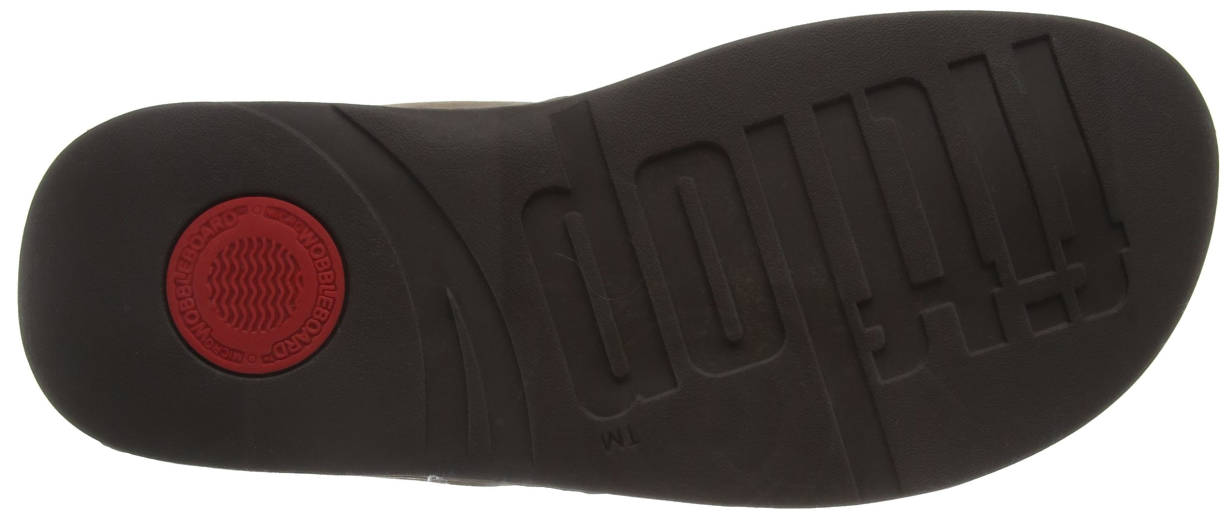 FitFlop Women's Lulu Shimmersuede Flip Flop, Bronze, 9 M US by FitFlop (Image #3)