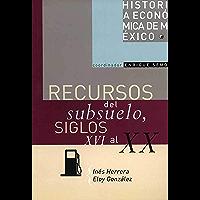 Recursos del subsuelo, siglos XVI al XX (Historia de Mexico nº 10)