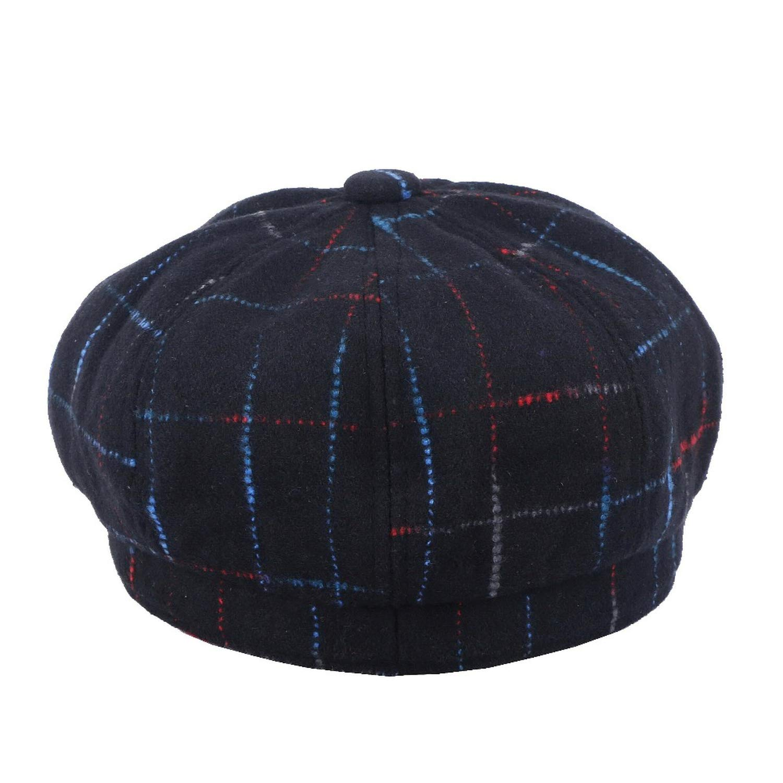 HEWPASKE Women Men Wool Fedora Hat with Leather Ribbon Gentleman Elegant Lady Winter Autumn Wide Brim Jazz Sombrero Cap