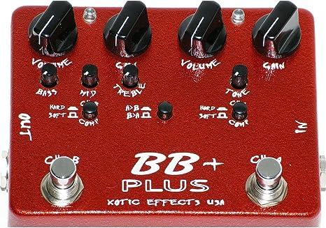 Xotic BB Plus - Compresor para guitarra eléctrica: Amazon.es ...
