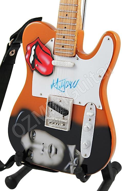 OZMiniGuitar Mick Jagger - Juego de Piedras para Guitarra en ...
