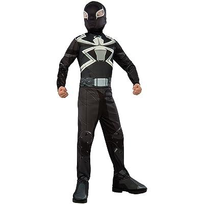 Rubie's Costume Spider-Man Ultimate Child Agent Venom Costume, Small: Toys & Games