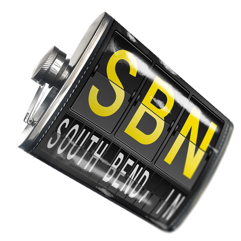 【メーカー包装済】 8オンスフラスコステッチSBN Airportコードfor – South Bend inステンレススチール B00QQVQQ8C – Bend ブロンド B00QQVQQ8C, ペットファミリー:1426a734 --- asindiaenterprises.com