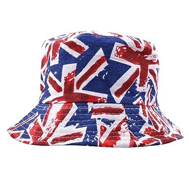 MAZ New 100% Cotton Union Jack Bucket Hat  Amazon.co.uk  Clothing c1d49fe3841c
