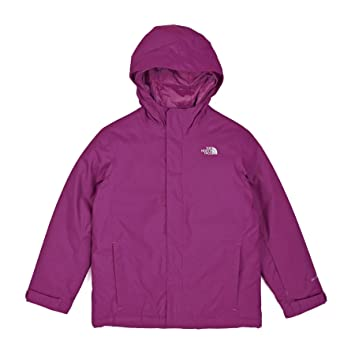 Niño Quest Talla M Y North Chaqueta Snow Color Jacket Rosa Face wtqBqY
